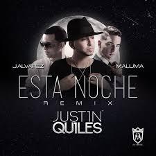 Justin Quiles Ft. J Alvarez Y Maluma - Esta Noche MP3